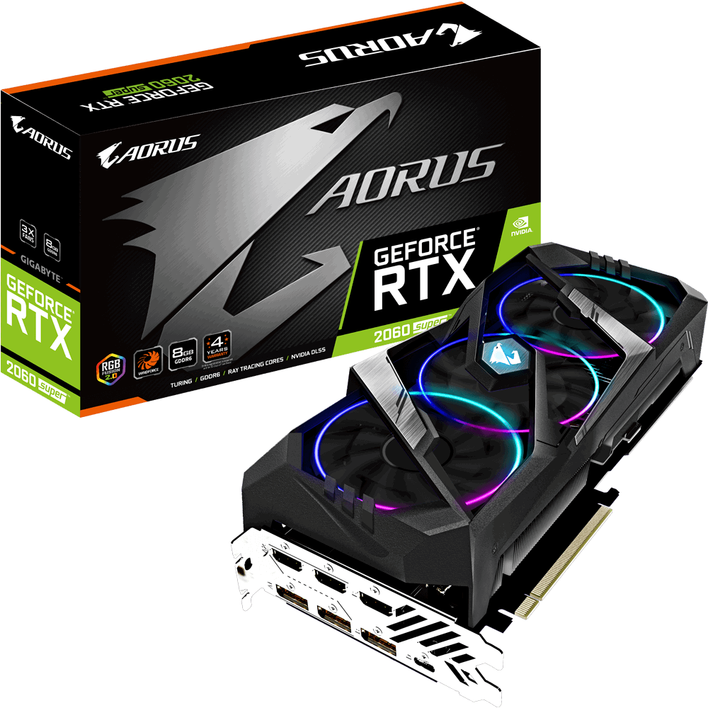 AORUS GeForce® RTX 2060 SUPER™ 8G