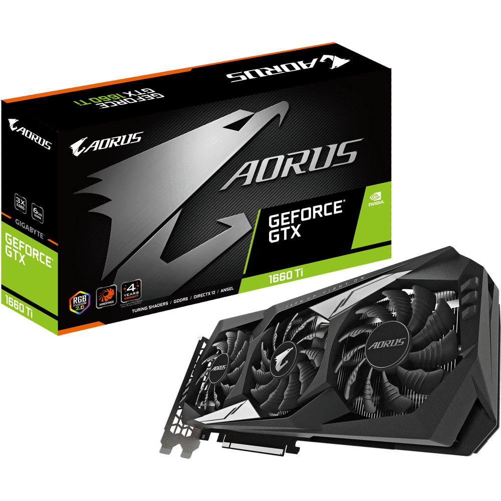AORUS GeForce® GTX 1660 Ti 6G