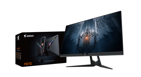 GIGABYTE Launches AORUS FI27Q Tactical Gaming Monitor
